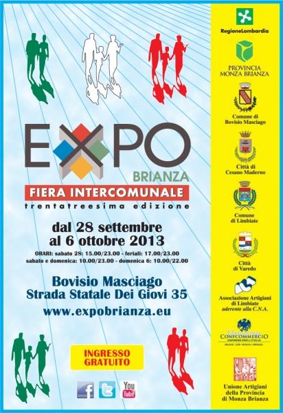 Locandina Expo Brianza ed. 2013