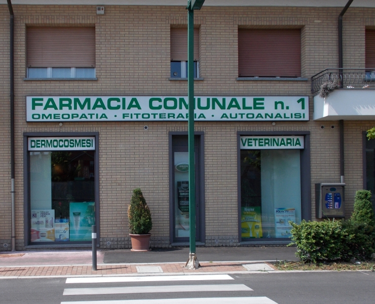 La Farmacia Comunale in via Bertacciola