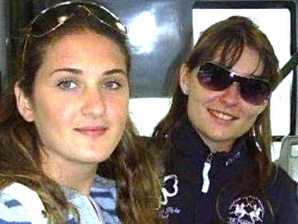 A sinistra Annalisa Lombardi assieme alla sua amica Monica Montagna