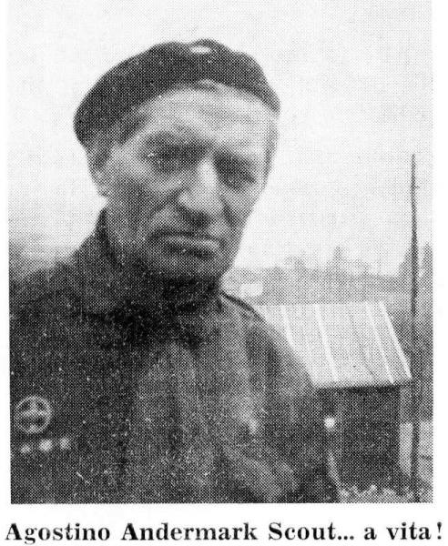 Agostino Andermark 29-09-1901/18-03-1970 Scout e Partigiano