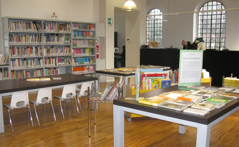 Biblioteca Bovisio Masciago - Credits sito web Comune Bovisio Masciago