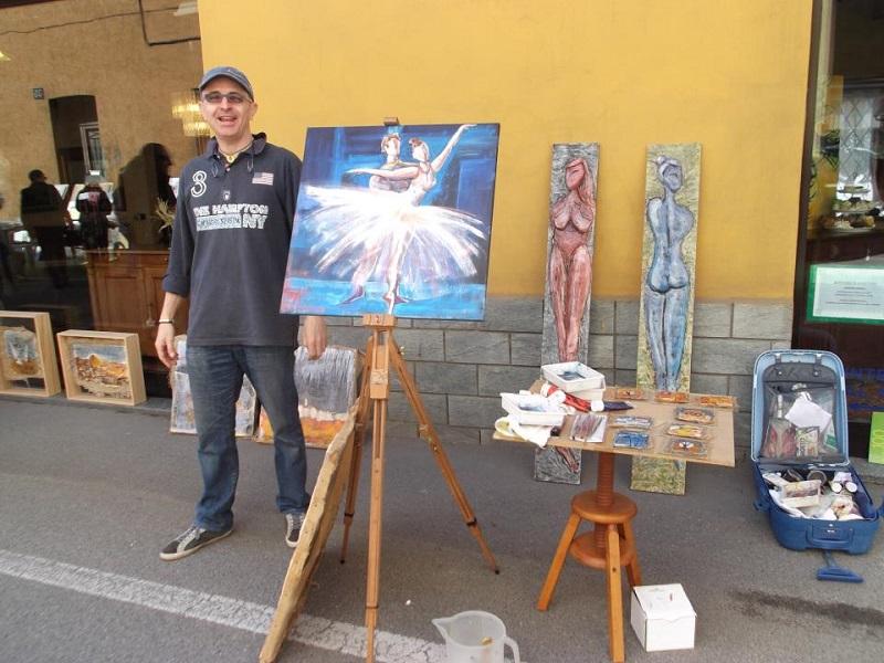 William Ronchi alla manifestazione Gioia e Colore edizione 2013